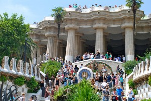 parc güell barcelona exploramas