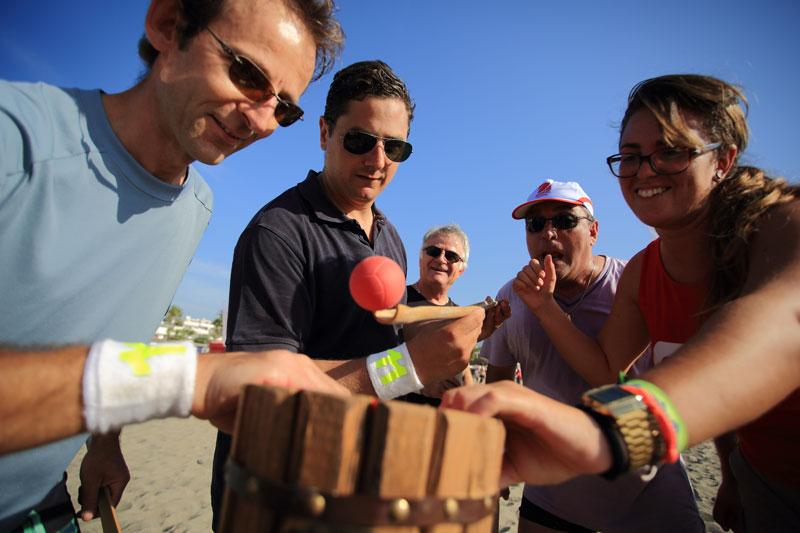 beach games mediterranean challenge exploramas