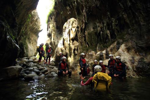 barranquismo-descenso-cañon-aventura-exploramas-6