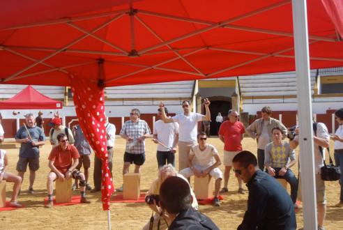 team-building-en-antequera-percusion-flamenca-eventos-exploramas-1
