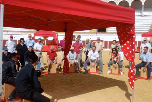 team-building-en-antequera-percusion-flamenca-eventos-exploramas-2