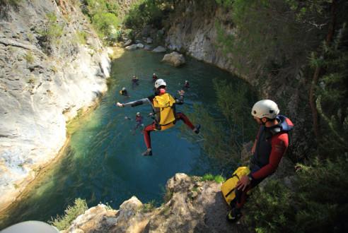 barranquismo-descenso-canon-aventura-exploramas-7